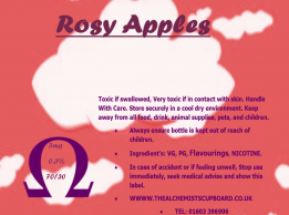 Rosy Apple E-Liquid VG