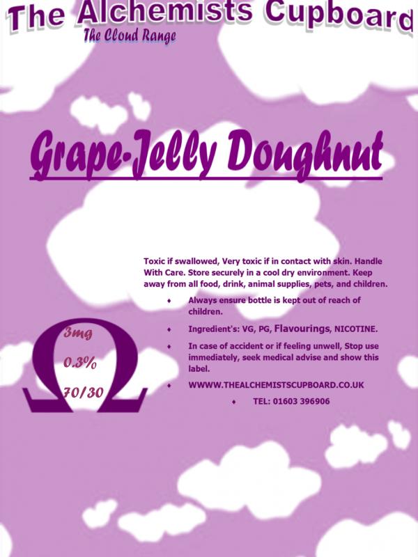 Grape-Jelly Doughnut VG