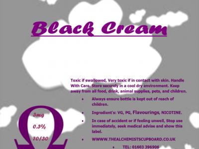 Black Cream VG