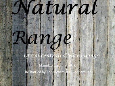 Natural Concentrate Flavourings