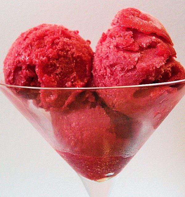 Lychee & Raspberry Sorbet