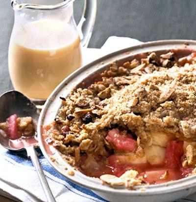 Rhubarb Crumble with Custard E-Liquid