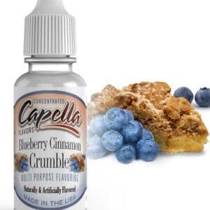Capella Blueberry Cinnamon Crumble Flavour Concentrate