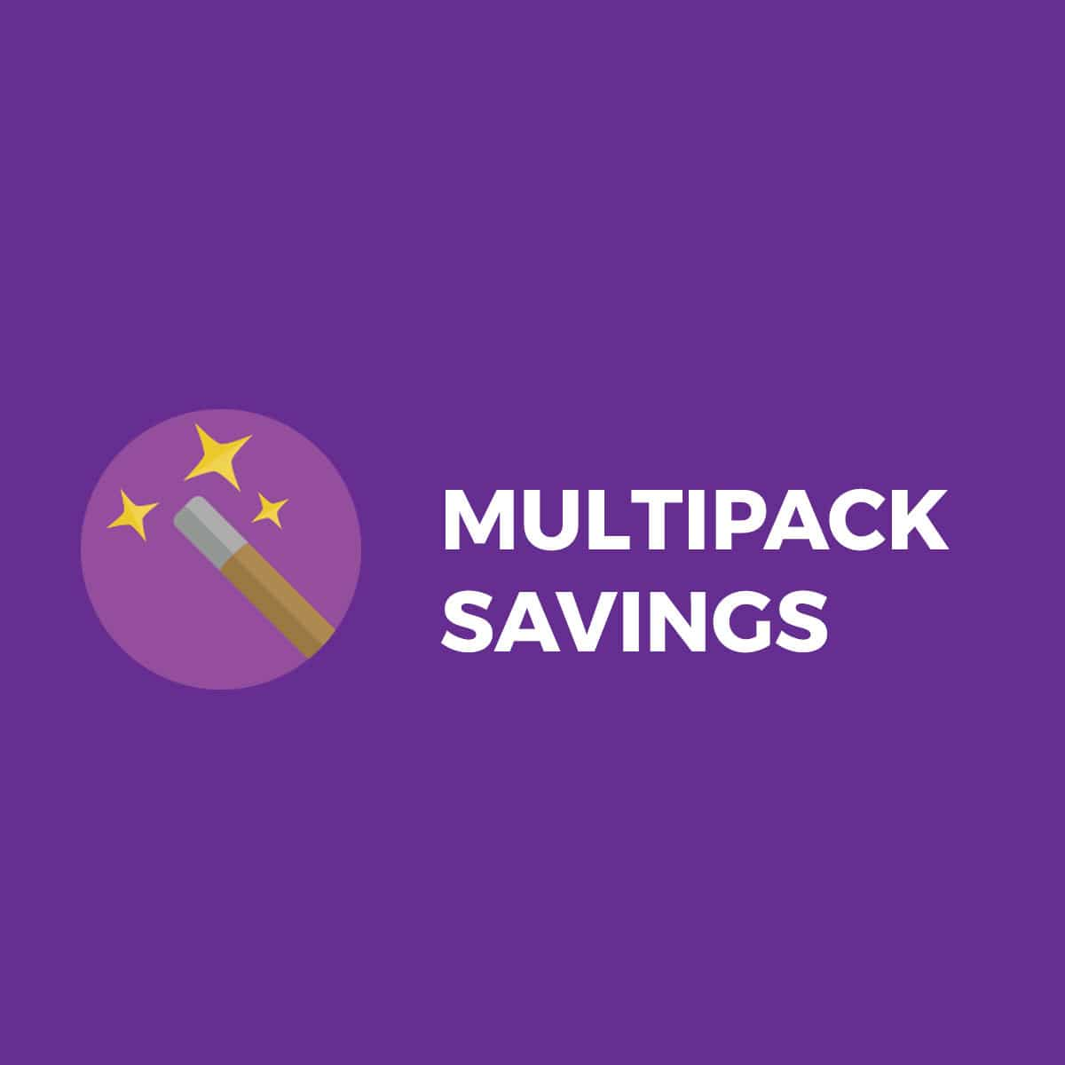 Multipack/Bulk Savings