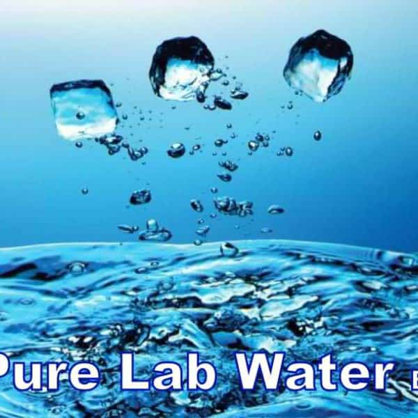 100 ml Pure Lab Water