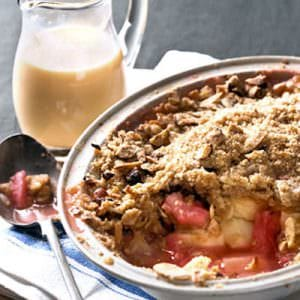 Rhubarb Crumble with Custard E-Liquid
