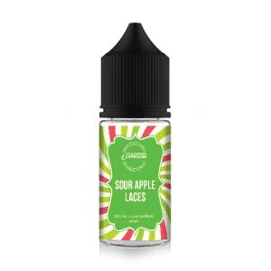 Sour Apple Laces 30ml Concentrate One-Shot, E-Liquid flavouring.