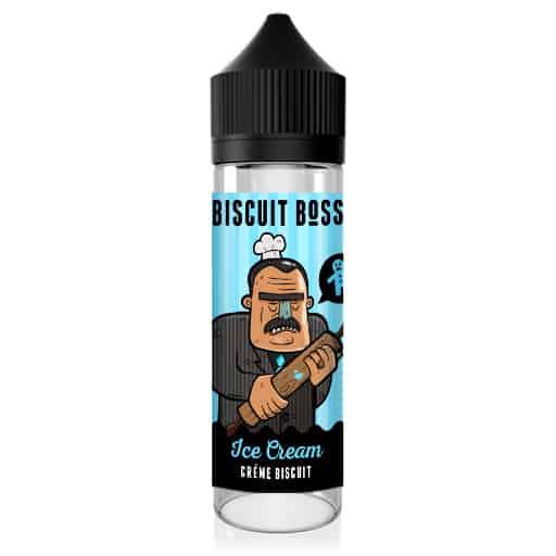 Biscuit Boss Short-fill E-Liquid Ice Cream