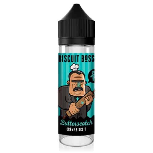 Biscuit Boss Butterscotch Short-Fill E-Liquid