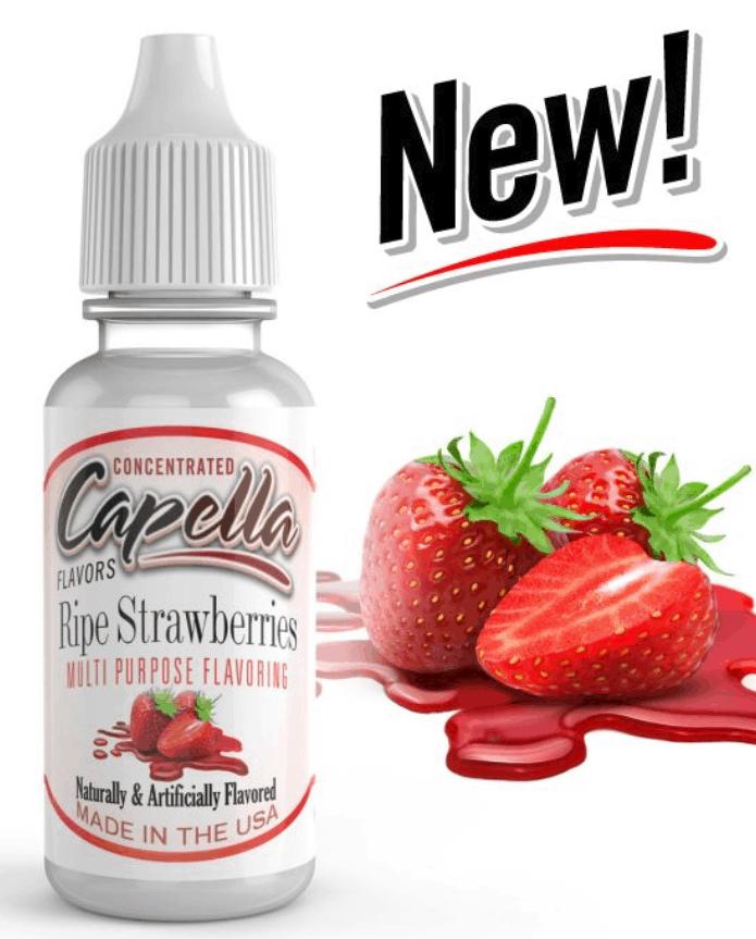 Capella Ripe Strawberries Flavour Concentrate